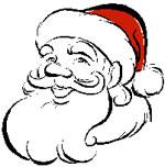 Santa Arrives in the Woodlands Texas